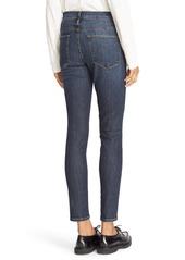 FRAME Le High Skinny High Waist Crop Jeans (Harvard)