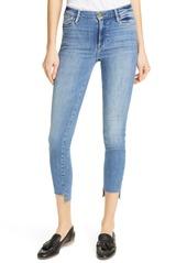 FRAME Le High Step Hem Crop Skinny Jeans (Westway)