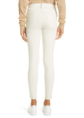 FRAME Le High Skinny Sateen Jeans