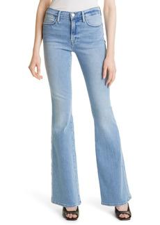 FRAME Le High Waist Flare Jeans (Hidalgo)