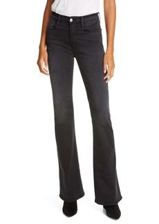 FRAME Le High Waist Flare Jeans (Maverick)