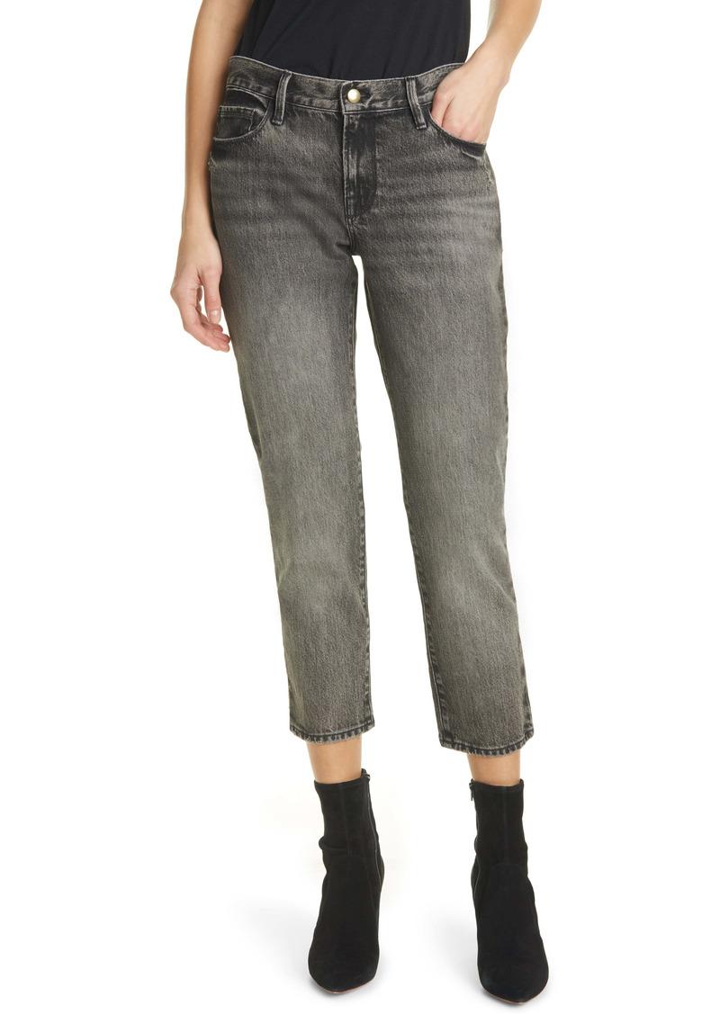 FRAME Le Nouveau High Waist Crop Straight Leg Jeans (Haynes)