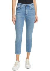 FRAME Le Pixie Sylvie High Waist Crop Jeans (Clarin)