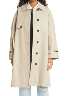 FRAME Mac Trench Coat