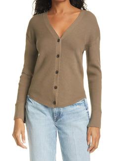 FRAME Phoebe Silk & Cotton Blend Cardigan