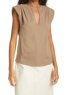 FRAME Shoulder Pad T-Shirt