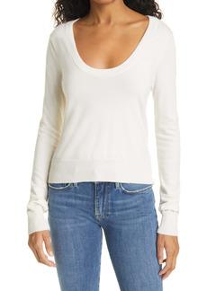FRAME U-Neck Sweater
