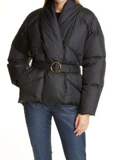 FRAME Wrap Puffer Coat