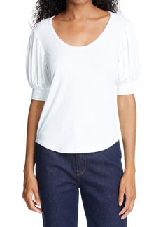 Women's Frame Puff Sleeve Blouse