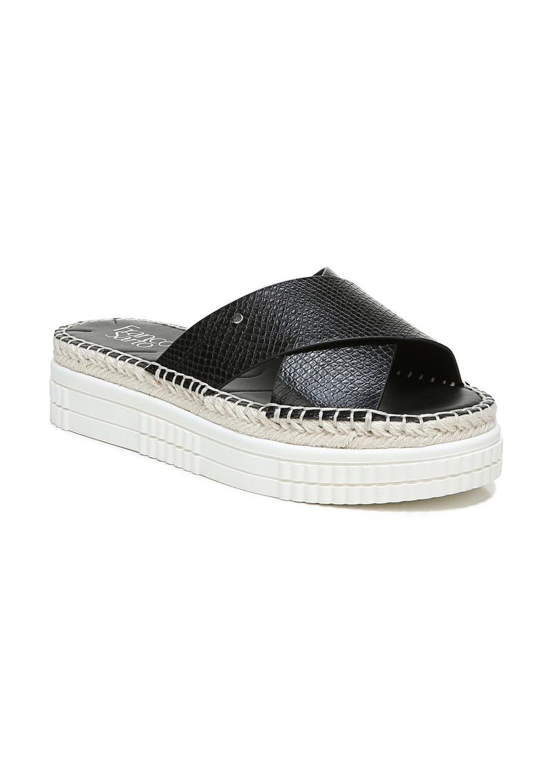 Franco Sarto Barb Platform Slide Sandal (Women)