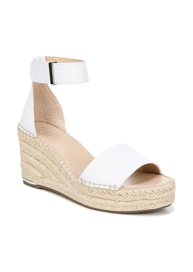 Franco Sarto Clemens Espadrille Wedge Sandal (Women)