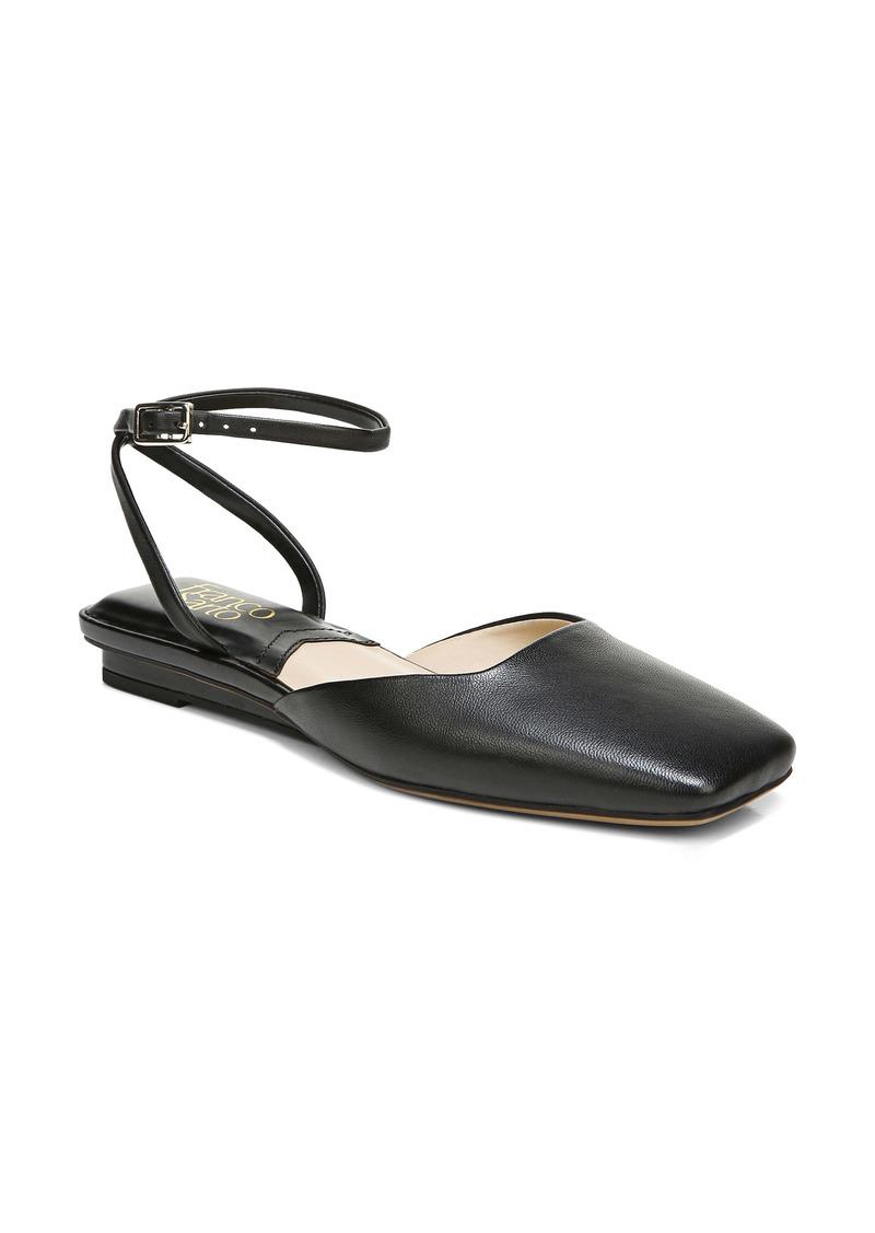 Franco Sarto Jolee Ankle Strap Flat (Women)