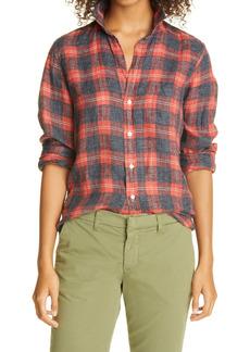 Frank & Eileen Barry California Linen Flannel Button-Up Shirt