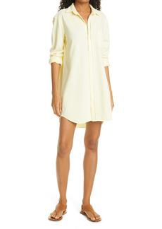 Frank & Eileen Mary Long Sleeve Button-Up Tunic Dress