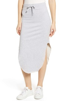 Frank & Eileen Tee Lab Fleece Midi Skirt