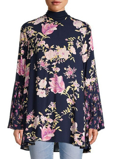 Free People Floral-Print Tunic