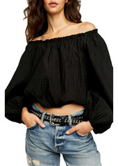 Free People Alicia Off the Shoulder Top