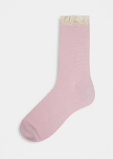 Free People Beloved waffle knit socks