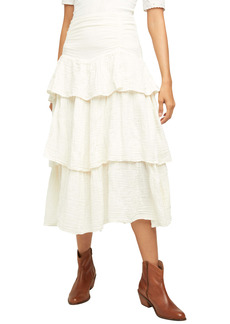 Free People Can't Stop the Spring Tiered Skirt