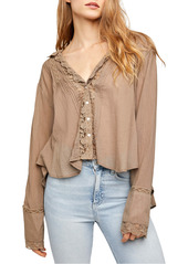 Free People Clemence Button-Up Blouse