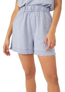 Free People Cozy Girl Distressed Drawstring Shorts