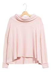Free People Cozy Time Funnel Neck Top
