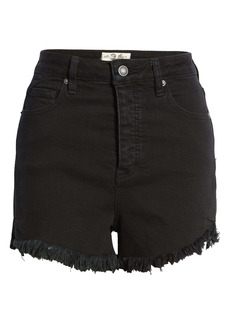 Free People Curvy High Waist Jean Shorts