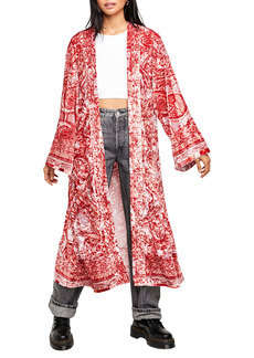 Free People Enchanted Print Wrap