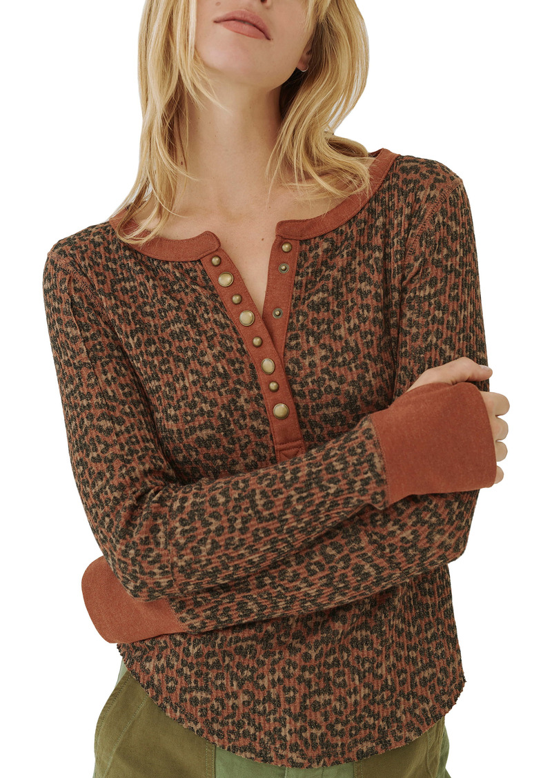 Free People Everest Thermal Henley