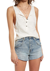 Free People Front Button Tank