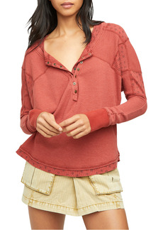 Free People Heart to Heart Henley Top