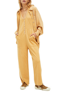 Free People High Rise Jumpsuit & Shirt