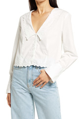 Free People Janie Blouse