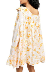 Free People Lorretta Floral Tunic