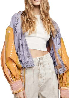 Free People Lover's Lane Embroidered Jacket
