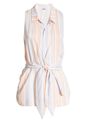 Free People Mackenzie Wrap Button-Up Top
