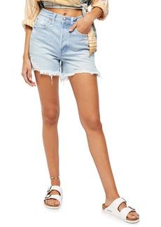 Free People Makai Ripped Cutoff Denim Shorts