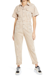 Free People Marci Short Sleeve Jumpsuit
