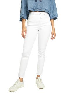 Free People Montana High Waist Skinny Jeans (Lily White)