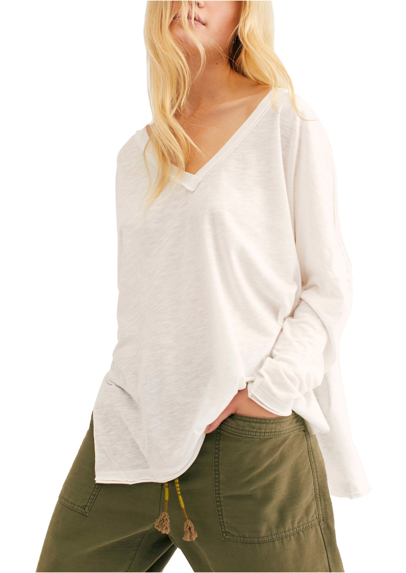 Free People On My Mind V-Neck Shirt