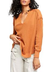 Free People Owen Thermal Knit Shirt