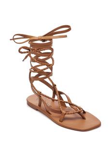 Free People Positano Ankle Wrap Sandal (Women)