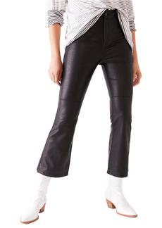 Free People Sasha Crop Faux Leather Pants