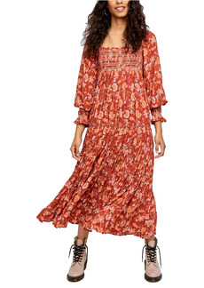 Free People Sweet Escape Long Sleeve Maxi Dress