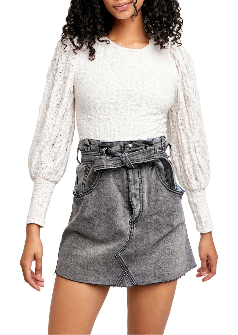 Free People Tea Time Top