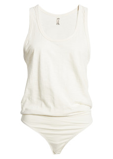 Free People Tee Off Tank Bodysuit