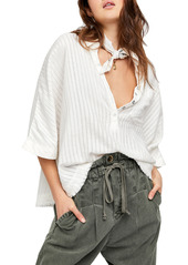 Free People The Ava Oversize Shirt