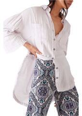 Free People The Venice Blouse