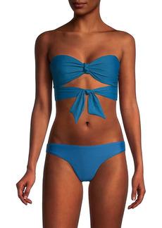 Free People Ribbon Bandeau Bikini Top