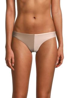 Free People Two-Tone Bikini Bottom